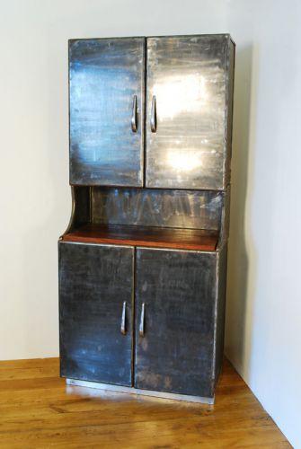 Polished Steel Dresser