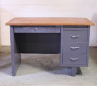 Metal & Wood Desk