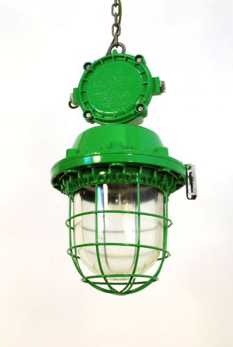 Large Painted industrial Pendant