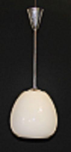 Oapaline light on chrome stantion