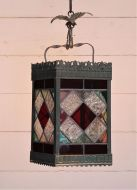 Stained Glass Victorian Hall Lantern
